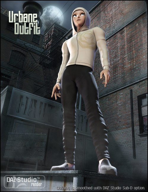 Urbane by: Xena, 3D Models by Daz 3D