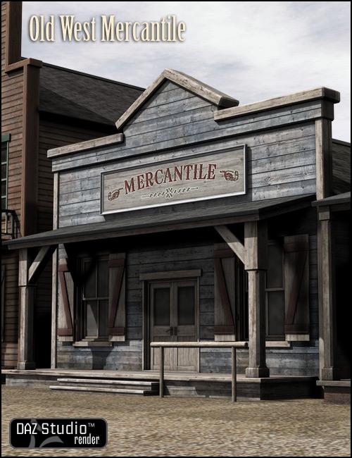 Old West Mercantile by: , 3D Models by Daz 3D