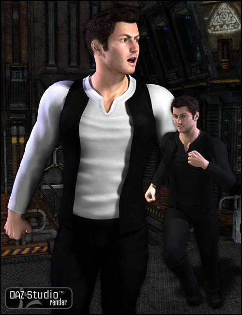 Captain Rebel by: , 3D Models by Daz 3D