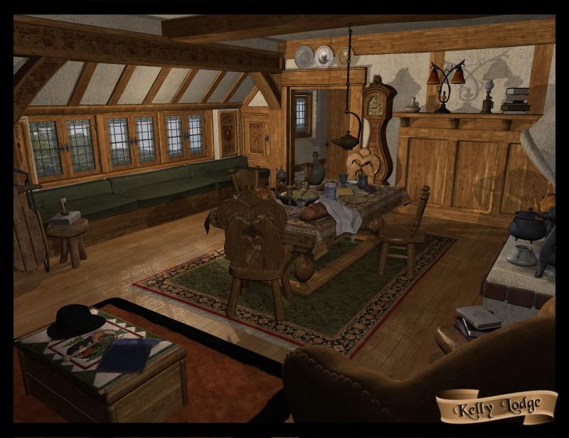 Kelly Lodge by: FaveralDigital Lite Design, 3D Models by Daz 3D