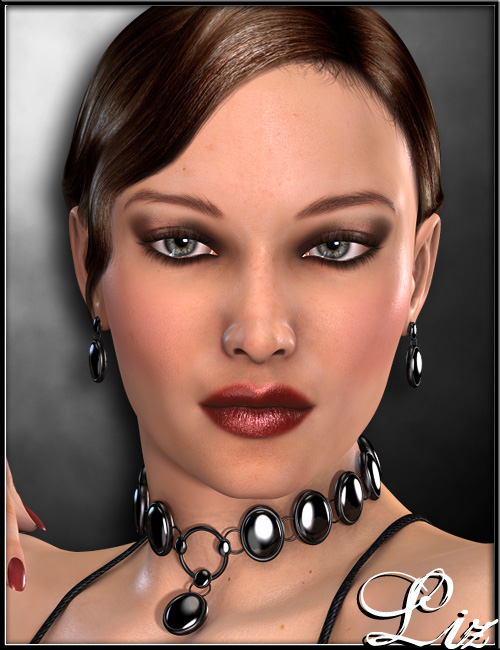 Liz Character and Hair by: , 3D Models by Daz 3D