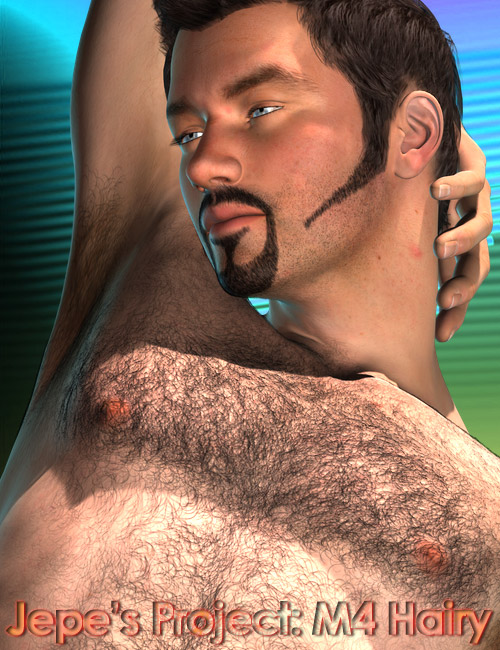 Jepe's Project M4 Body and Facial Hair by: Jepe, 3D Models by Daz 3D
