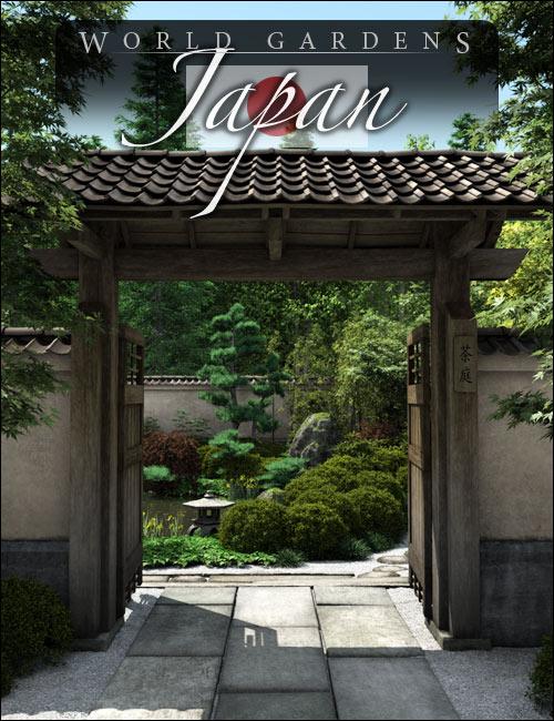 World Gardens  Japan by: HowieFarkes, 3D Models by Daz 3D