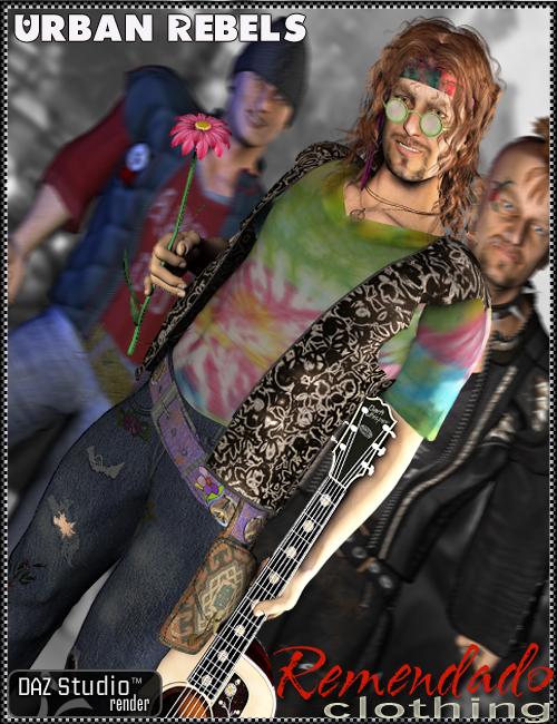 Urban Rebels for Remendado by: Marieah, 3D Models by Daz 3D