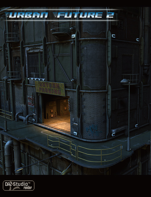 Urban Future 2 by: Stonemason, 3D Models by Daz 3D