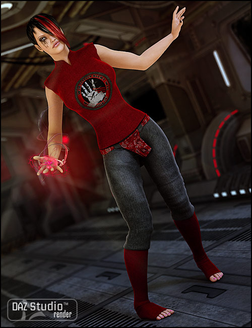 Leggings Outfit by: Xena, 3D Models by Daz 3D