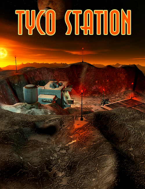 Tyco Station by: The AntFarm, 3D Models by Daz 3D