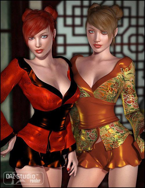 Anjiru Unimesh Fits by: Barbara Brundon, 3D Models by Daz 3D