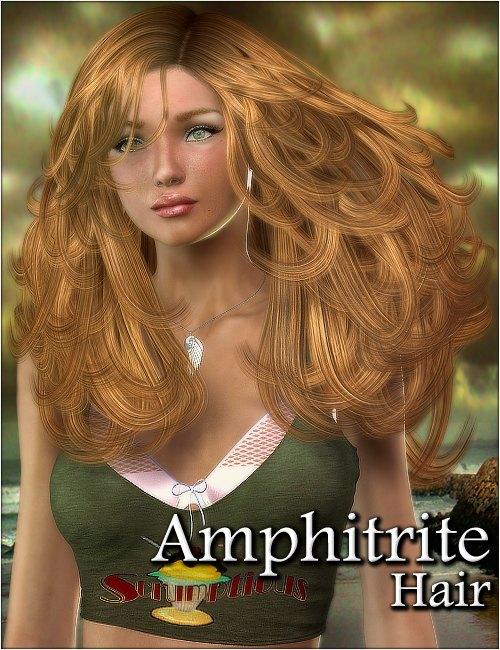 Amphitrite Hair by: 3DreamMairy, 3D Models by Daz 3D