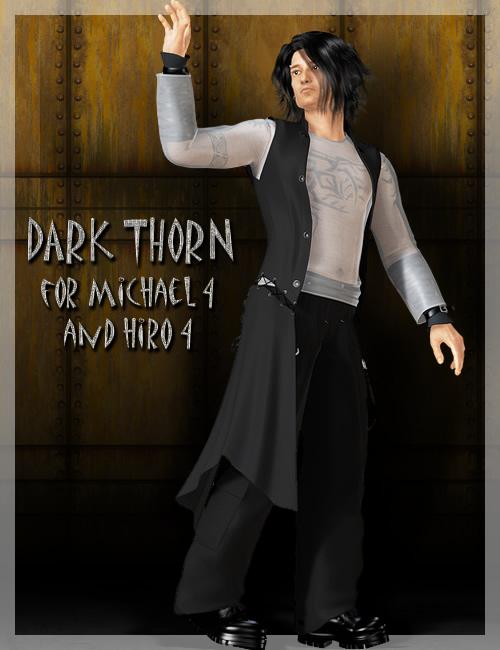 BRC Dark Thorn for M4 by: Ravenhair, 3D Models by Daz 3D
