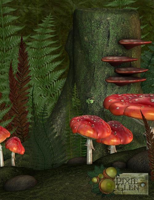 Pixie Glen Environment by: ThorneMadaSarsa, 3D Models by Daz 3D