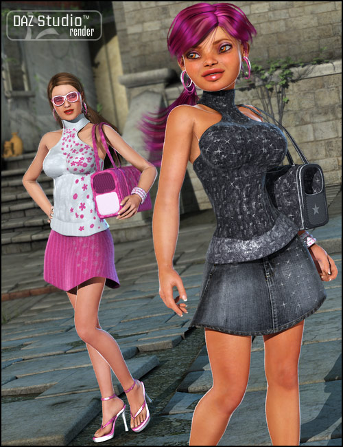 True Style V4 by: Barbara BrundonMorris, 3D Models by Daz 3D