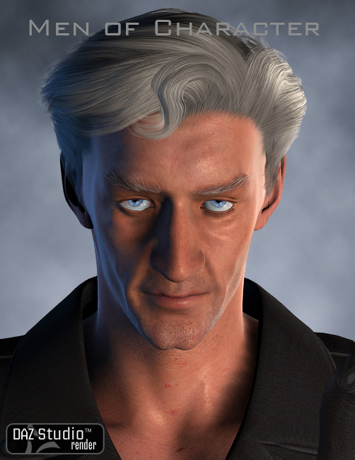 Men of Character by: WillDupreCris Palomino, 3D Models by Daz 3D