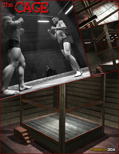 The Cage by: Predatron, 3D Models by Daz 3D