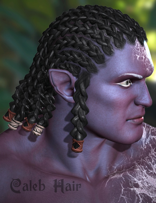 Caleb Hair by: AprilYSH, 3D Models by Daz 3D