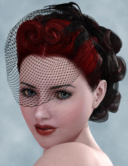 Deeta Hair by: AprilYSH, 3D Models by Daz 3D