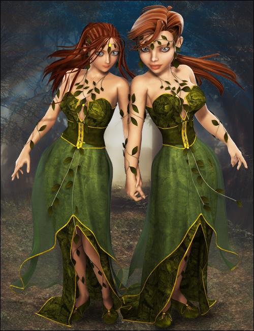 Gaia Unimesh Fits by: Ravenhair, 3D Models by Daz 3D
