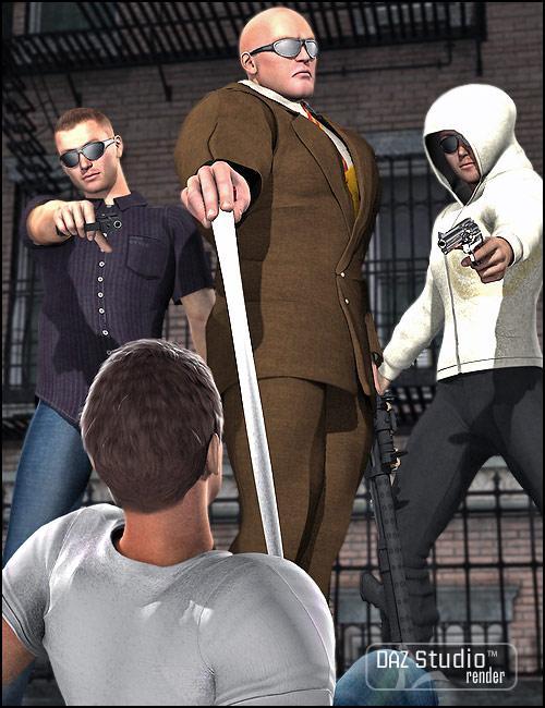 Mafioso by: Barbara Brundon, 3D Models by Daz 3D