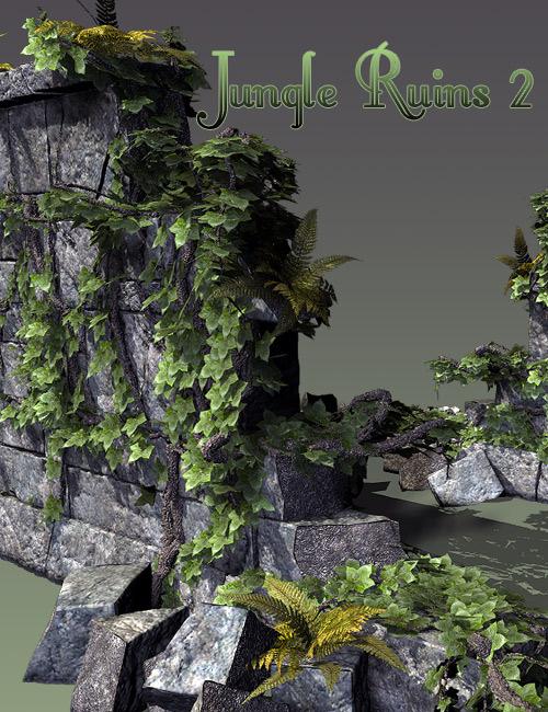 Jungle Ruins 2 by: Stonemason, 3D Models by Daz 3D