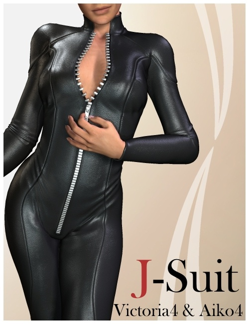The J-Suit by: KookNfat, 3D Models by Daz 3D