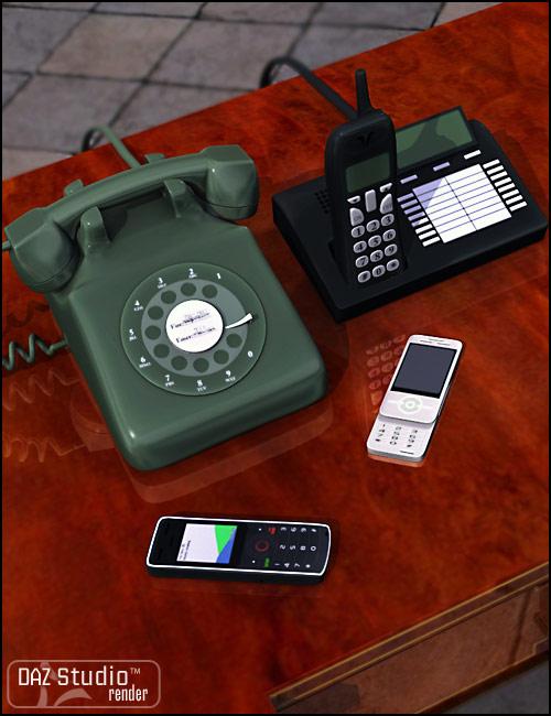Tele-phony by: Valandar, 3D Models by Daz 3D