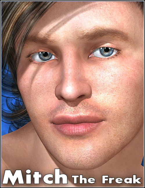 Mitch for The FREAK by: mutedbanshee, 3D Models by Daz 3D