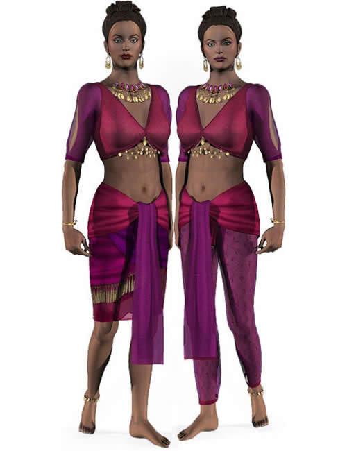 Gypsies & Genies by: , 3D Models by Daz 3D