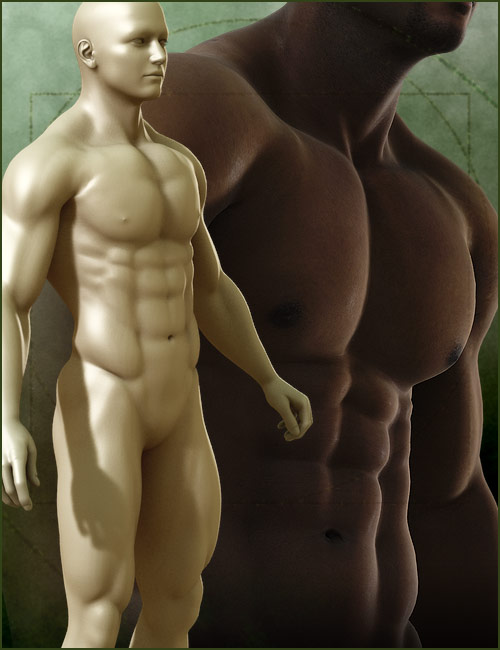 Michael 4 Muscle Morphs by: , 3D Models by Daz 3D