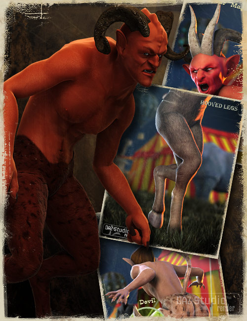 Michael 4 Creature Creator Add Ons by: Xena, 3D Models by Daz 3D