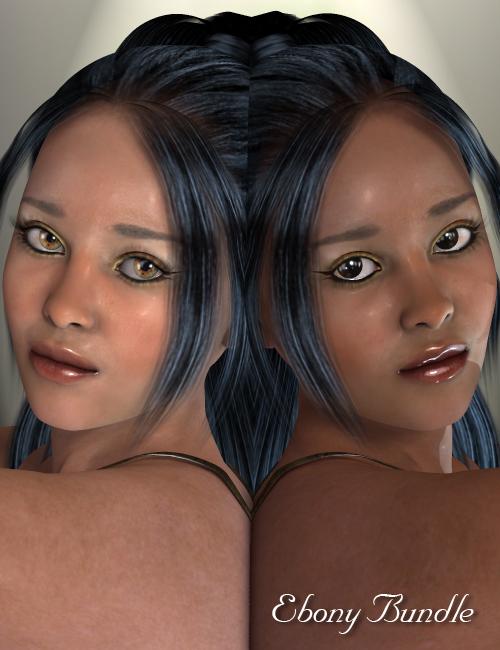 Ebony bundle by: Virtual_World, 3D Models by Daz 3D