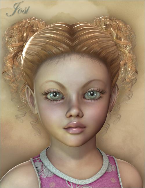 Josi for Kids 4 by: SarsaThorne, 3D Models by Daz 3D