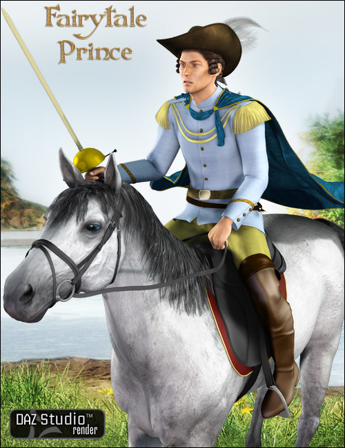 Fairytale Prince for M4 and H4 by: Ravenhair, 3D Models by Daz 3D