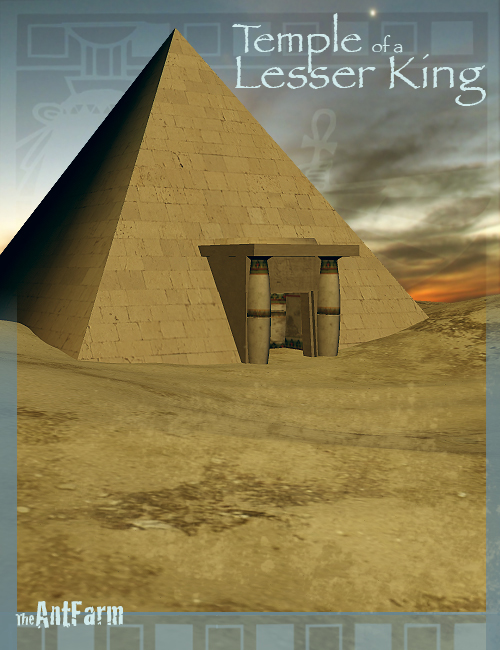 Temple of a Lesser King by: The AntFarm, 3D Models by Daz 3D