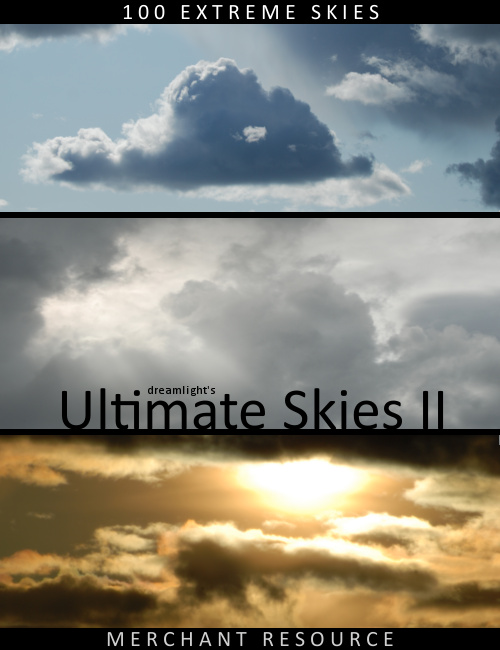 Dreamlights Ultimate Skies II 100 High Rez Backgrounds by: Dreamlight, 3D Models by Daz 3D