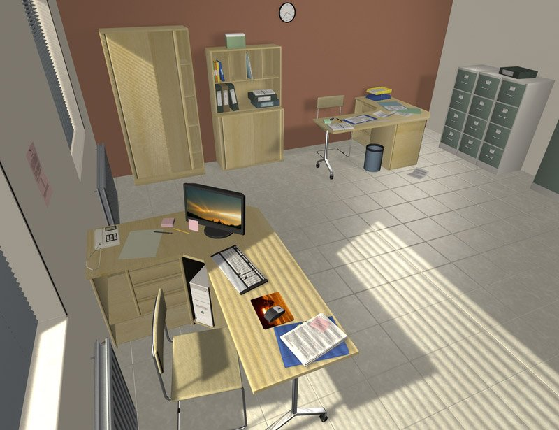 The Office by: maclean, 3D Models by Daz 3D
