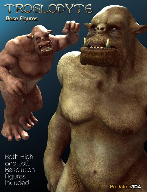 Predatron's Troglodyte by: Predatron, 3D Models by Daz 3D