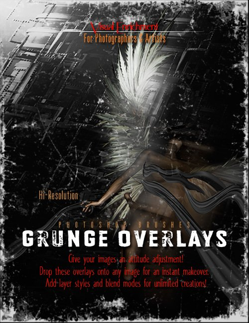 Ron's Grunge Overlays by: deviney, 3D Models by Daz 3D