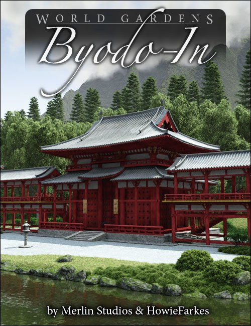World Gardens Byodo In by: HowieFarkesMerlin Studios, 3D Models by Daz 3D