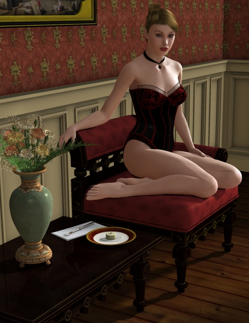 Chinoiserie by: Ness Period Reproductions, 3D Models by Daz 3D