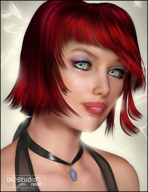 Aldora Hair by: Propschick, 3D Models by Daz 3D