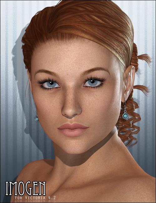 FR Imogen by: Freja, 3D Models by Daz 3D