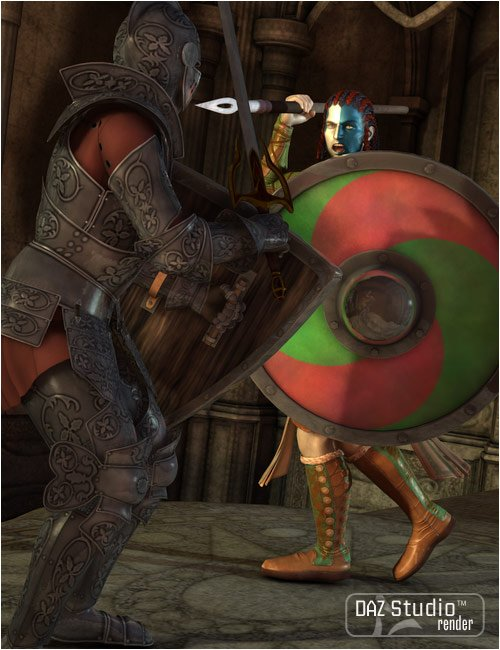 Fantasy Shields by: Valandar, 3D Models by Daz 3D