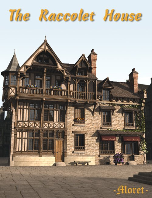 The Raccolet House by: Faveral, 3D Models by Daz 3D